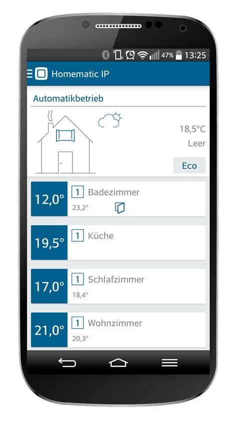 ip with app homematic ip app gt homematic ip gt smart home bei