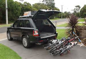 isi advanced 4x4 bicycle carrier systems range rover