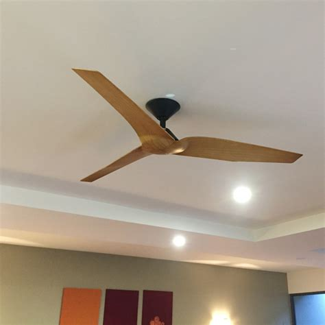 Infinity Ceiling by Fanco Infinity Dc Ceiling Fan Remote Black Timber 52 Quot