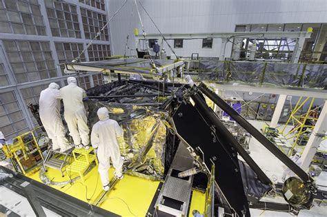 the room telescope webb telescope gets its science instruments installed universe today