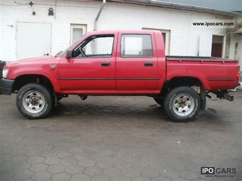 1994 Toyota Specs 1994 Toyota Hilux 4x4 2 5 Diesel Car Photo And Specs