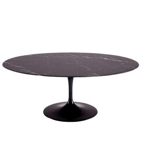 genuine eero saarinen oval dining table 198cm by knoll aram