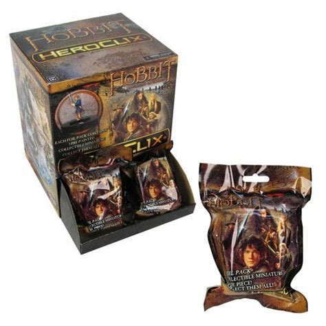 the hobbit series 1 the hobbit desolation of smaug heroclix series 1 display