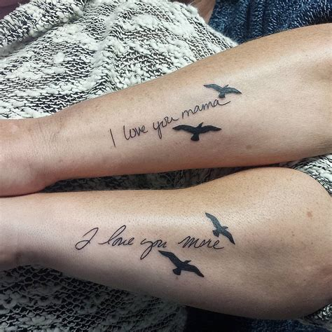 small mother daughter tattoo ideas 31 beautifully ideas pictures