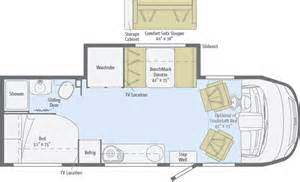 Winnebago Via Floor Plans reyo floorplans winnebago rvs