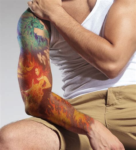 flame sleeve tattoos alluring sleeve designs to shape a story on
