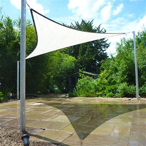Sail Awnings Uk by Quality Garden Shade Sails Gardener