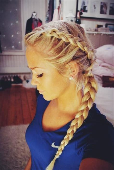 how to style hair for track and field 17 stunning dutch braid hairstyles with tutorials pretty