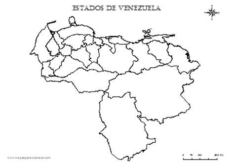 imagenes de venezuela para colorear mapa de venezuela para colorear