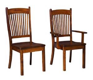 Amish Dining Room Chairs by Amish Benton Dining Room Chair