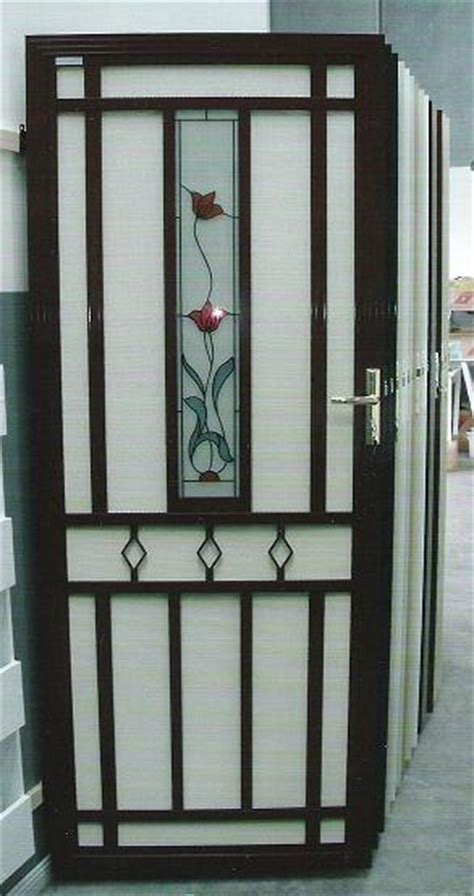 Decorative Security Screen Doors by Security Screen Doors Security Screen Door Decorative