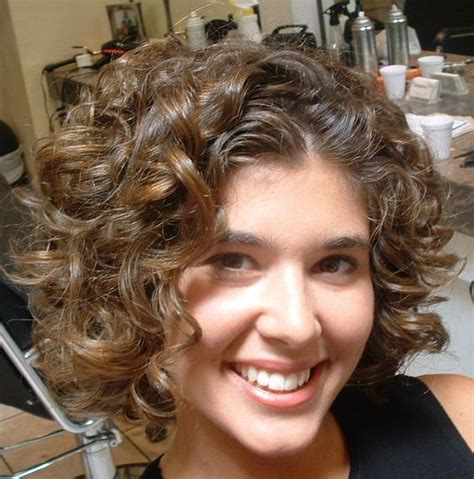 perms for someone with fat face my hair styles for curly hair and style on pinterest