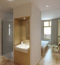 Neutral ensuite shower room interior design ideas