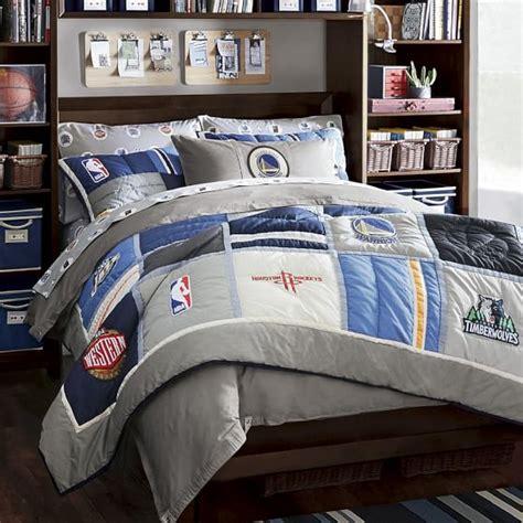 nba comforters nba patchwork quilt sham pbteen