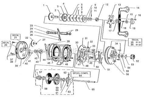 abu garcia parts diagrams abu garcia 6000 c parts list and diagram 01 02
