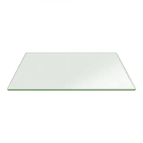54 x 54 glass table top fab glass and mirror 36 in x 54 in clear rectangle glass