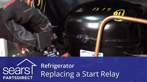Kompresor Freezer Lg how to replace a refrigerator compressor start relay