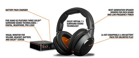 Headset Steelseries H Wireless steelseries announces the h wireless headset
