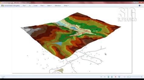 arcgis arcscene tutorial tutorial arcgis cap 13 11 arcscene exportar imagen 2d