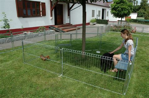Hunde Absperrgitter Selber Bauen by Bromet Gmbh Elemente F 252 R Hundezwinger Welpenelement