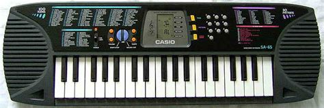 Keyboard Casio Sa 35 casio keyboard sa 65 elektronisches piano ebay
