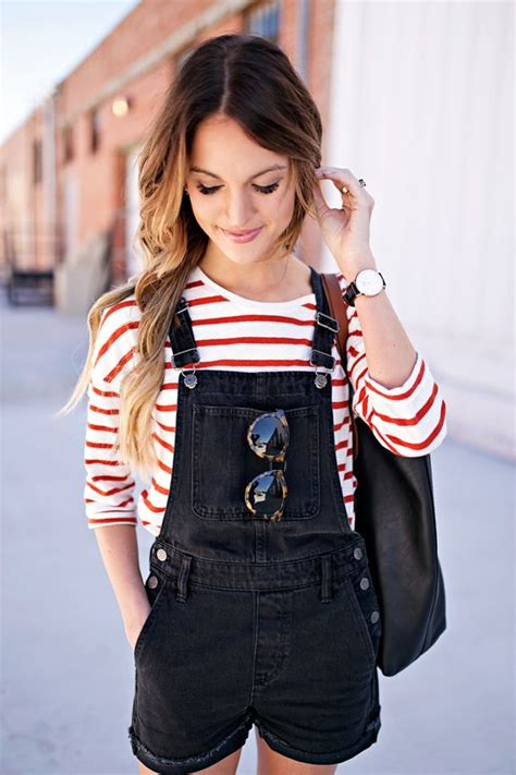 Overall Stripy black overalls tortoise and madewell on