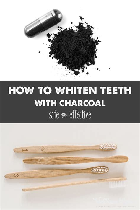 activated charcoal teeth whitening ideas