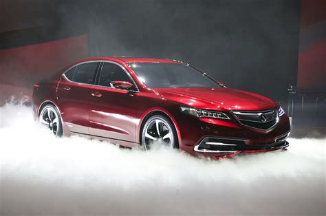 2015 acura tlx prototype front three quarter photo 12