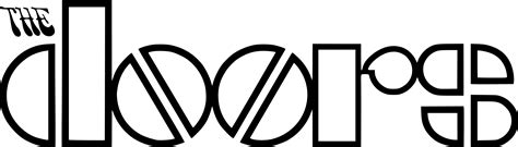 The Doors Logo by The Doors Decal Sticker