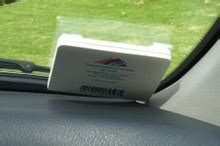 How To Install Express Toll Sticker