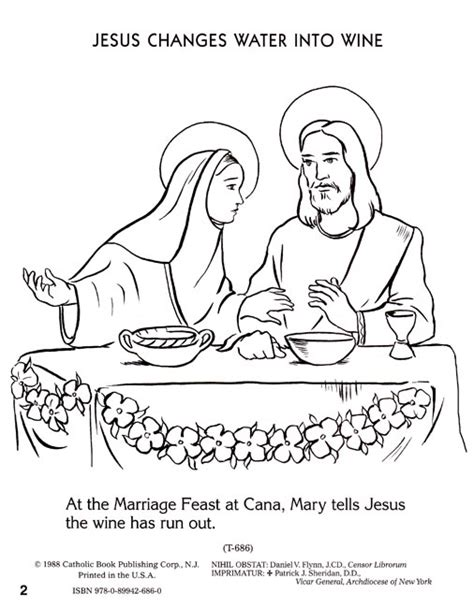 coloring pages jesus first miracle free coloring pages of miracles of jesus