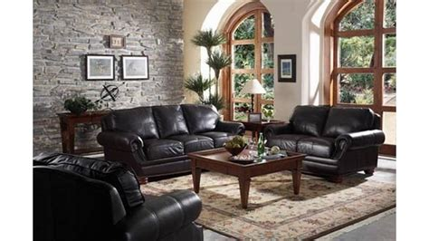 Black Living Room Furniture Decorating Ideas Living Room Ideas With Black Sofa