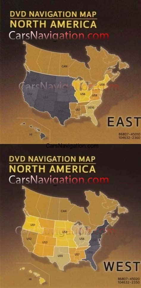 america map version 13p 2016 toyota lexus american navigation dvd gen5 v 15
