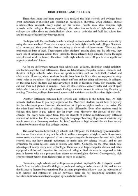 compare contrast essay outline   essay