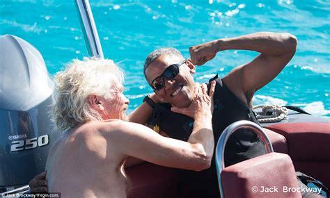 obama necker island barack obama escapes on billionaire richard branson s