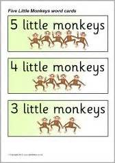 5 little monkeys swinging in a tree lyrics 1000 images about five little monkeys jumping on the bed