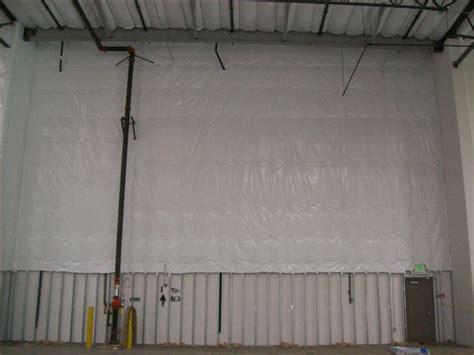 Warehouse Ceiling Foil by Fiberglass Batt Insulation Installation El Segundo Ca