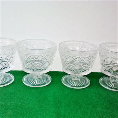 section 8 glasses vintage hazel atlas desert cups set 4 from