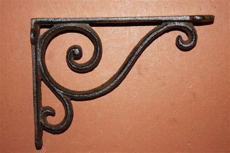 Decorative Wrought Iron Shelf Brackets by 25 Best Ideas About Decorative Shelf Brackets On
