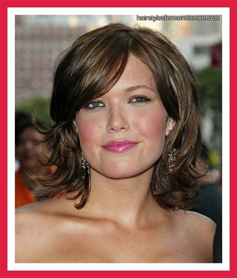 hairstyles for square faces and fine hair medium length hairstyles for fine hair and square face