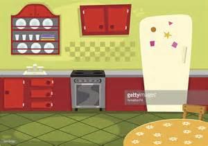 kitchen cartoon cartoon kitchen vector art getty images