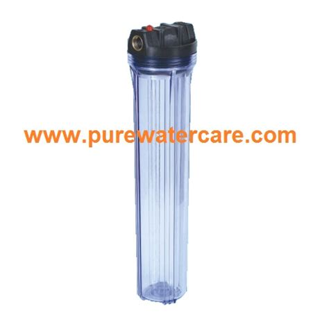 Housing 10 Clear Drat 3 4 Wl10 water treatment mangement purewatercarejakarta