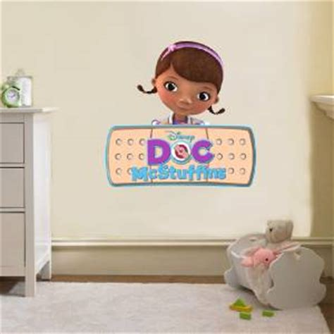 doc mcstuffins band aid logo disney decal removable wall