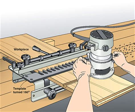 how to make a dovetail jig template dovetail jig does an about as router guide