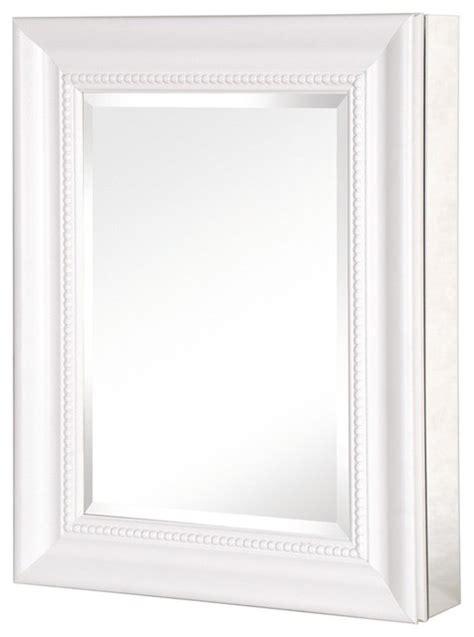 white framed medicine cabinet pegasus sp4598 20 quot x 26 quot deco framed medicine cabinet in