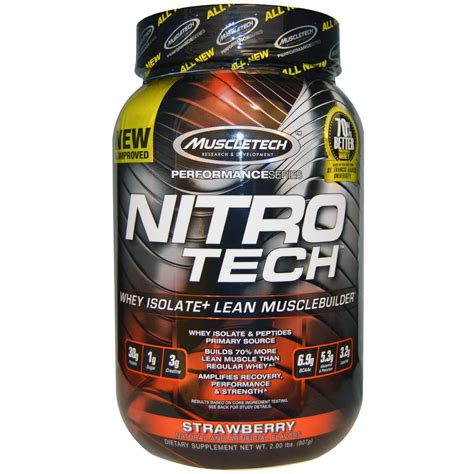 Harga Special Muscletech Nitrotech 4 Lb muscletech nitro tech performance series whey isolate lean musclebuilder strawberry 2 lbs