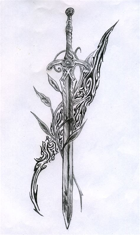 sword tattoos tribal sword designs www imgkid the image