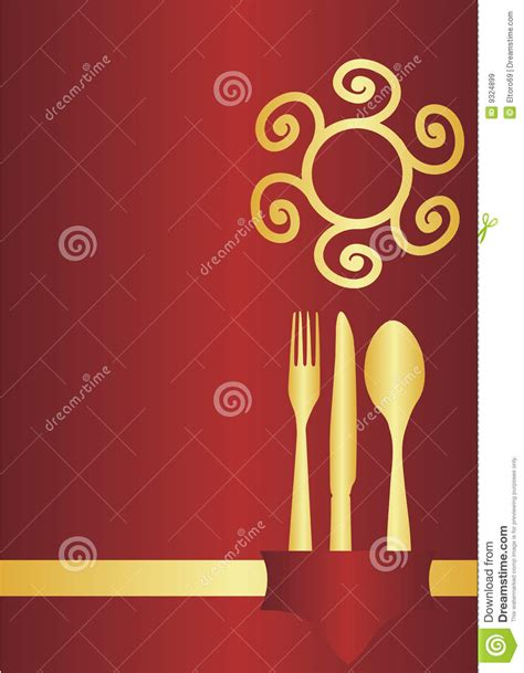 menu card design royalty free stock images image 9324899