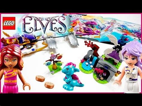 lego elves tutorial full download lego elves 41077 aira s pegasus sleigh