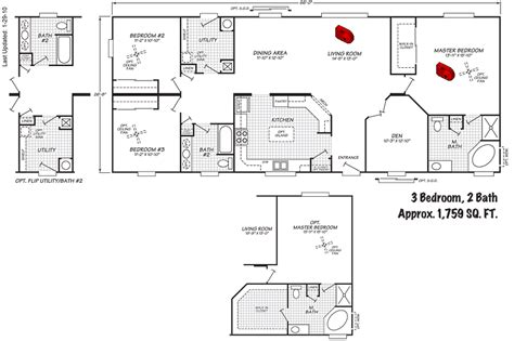 manufactured home floor plans and pictures floor plans of manufactured homes home design and style